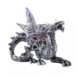Statueta Dragon cu doua capete