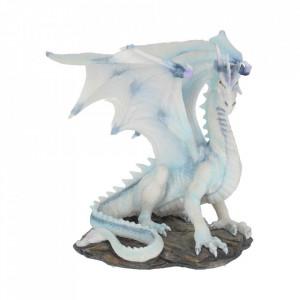 Statueta dragon de gheata Grawlbane 20cm