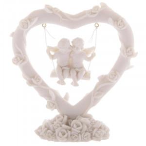 Statueta ingerasi Leaganul iubirii 10 cm