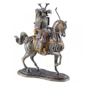 Statueta mitologica Samurai calare 11cm
