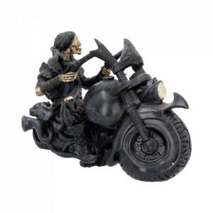 Statueta motocicleta Scrasnet de roti 18 cm