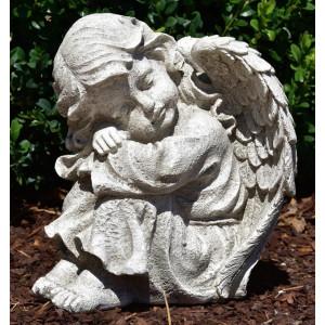 Statueta pentru gradina Ingeras 24cm