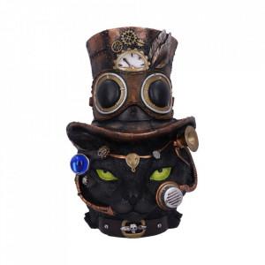 Statueta pisica steampunk Felius Mogg 57 cm