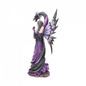 Statueta zana si dragon Imbratisarea gardianului 60 cm