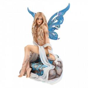 Statueta Zane cu cristale - Safir 20.5 cm