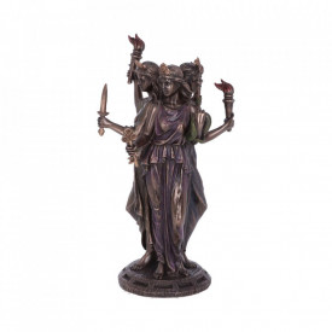 Statueta zeita celtica Hecate Zeita Magiei 21 cm