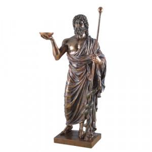 Statueta zeul Esculap 37cm