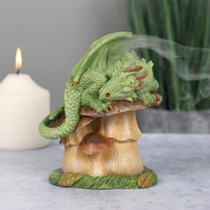 Suport conuri tamaie Dragon Verde - Anne Stokes