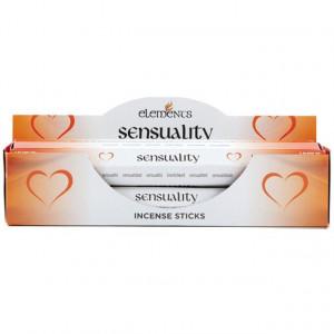Bețișoare de tămâie magice Elements - Sensuality