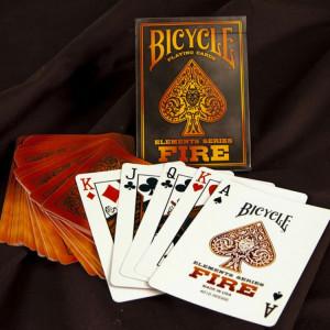 Carti de joc Bicycle Fire