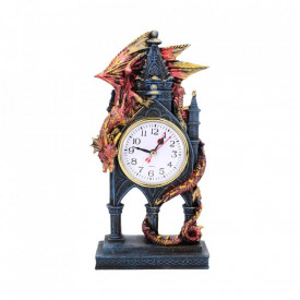 Ceas de birou cu dragon Gardianul timpului