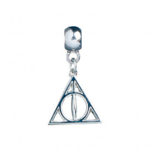 Charm placat argint licenta Harry Potter - Talismanele Mortii