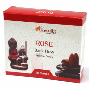Conuri parfumate backflow Aromatika - Trandafiri