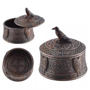 Cutie bijuterii Corbul lui Odin ( Hugin )10cm