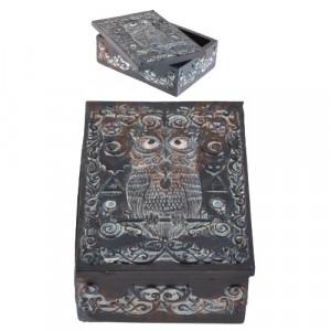 Cutie carti de tarot Bufnita 14cm