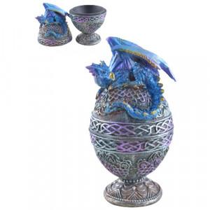 Cutie pentru bijuterii Gardianul albastru 17cm