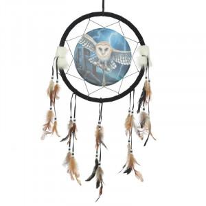 Dreamcatcher bufnita Inima Furtunii - Lisa Parker 33 cm