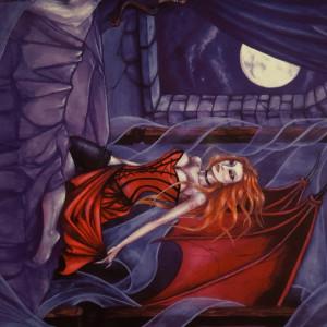 Felicitare vampiri Succubus