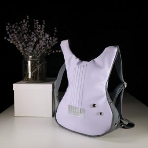 Guitar-shaped backpack Rocking Purple
