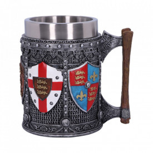 Halba medievala Stindard Englez 16 cm