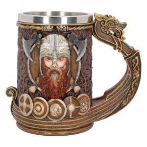 Halbă viking Drakkar