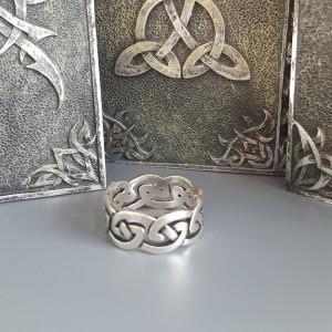 Inel argint Nod celtic R705