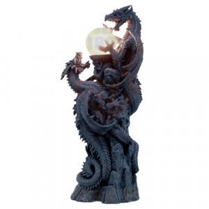 Lampa dragon Comoara Dragonilor 66cm