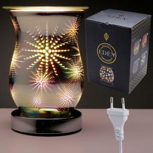 Lampa electrica pentru aromaterapie Fulg de nea 16cm