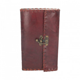 Leather Journal w/lock