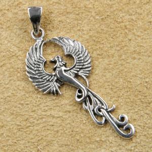 Pandantiv argint Phoenix 4.5 cm