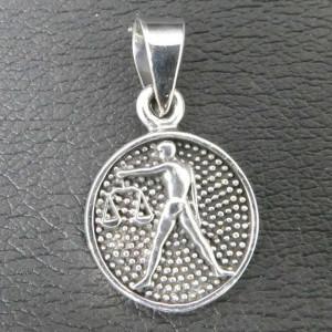 Pandantiv argint semn zodiacal Balanta