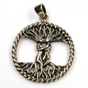 Pandantiv bronz Copacul vietii celtic