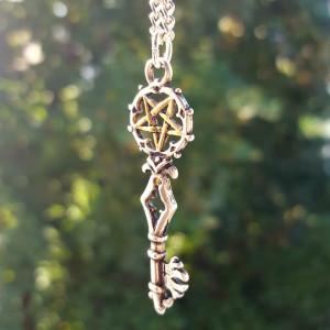 Pandantiv talisman Cheia lui Solomon