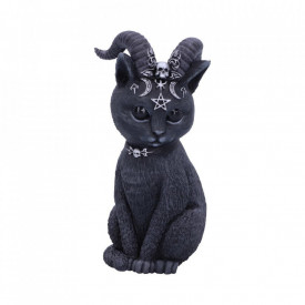Pawzuph Horned Occult Cat Figurine 11cm