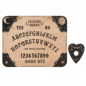Placa Ouija Spirit Board design clasic