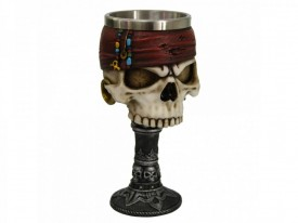 Pocal craniu pirat Dead Man's Drink 17cm
