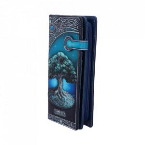 Portofel embosat Copacul Vietii - Lisa Parker 19 cm
