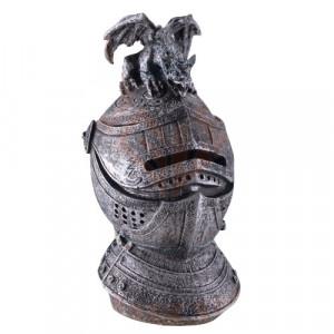 Pusculita Coif Medieval cu dragon 18 cm
