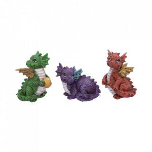 Set statuete Trei dragonei 8.8 cm