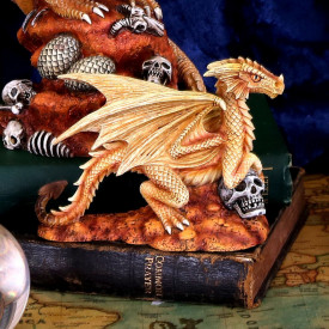 Statueta Age of Dragons - Dragon de desert pui - Anne Stokes - 13cm