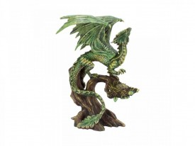 Statueta Age of Dragons - Dragon de padure adult - Anne Stokes - 24cm