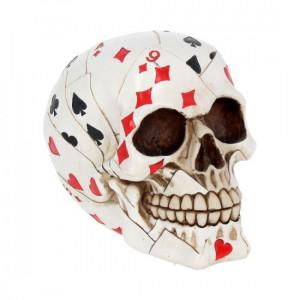 Statueta craniu Mana mortului 15 cm