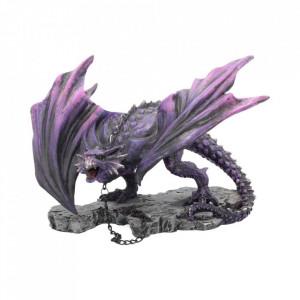 Statueta dragon inlantuit Azar 22 cm
