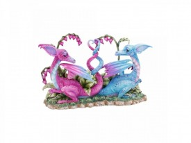 Statueta Dragoni Iubareti 23 cm - Amy Brown