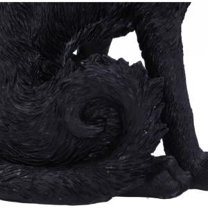 Statueta pisica neagra Salem 19.6 cm