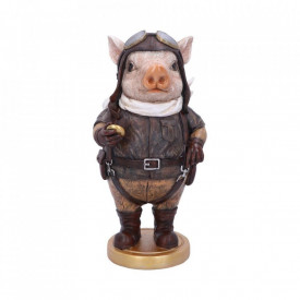 Statueta Porcușorul Pilot 26.5 cm.