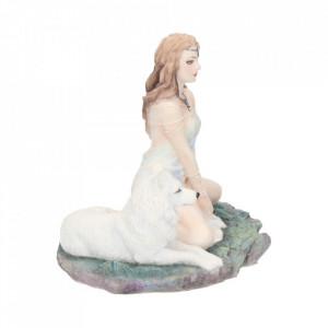 Statueta zana si lup Fecioara furtunii 16.5 cm