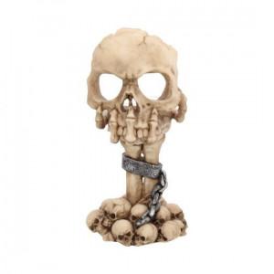 Suport lumânări Craniu în deliberare