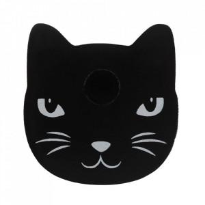 Suport lumanari pentru ritualuri Pisica Neagra