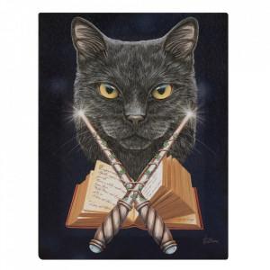 Tablou canvas, Magicianul, 19x25cm - Lisa Parker